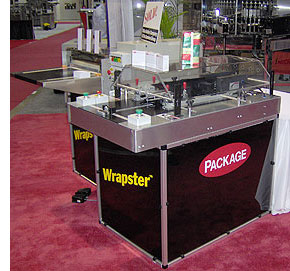 wrapster1 Wrapster Semi Auto Wrapping Machine   a simple inexpensive overwrapper