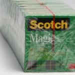 scotch tape bundle overwrap
